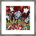 Band Of Horses Framed Print by Carol Law Conklin