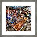 Bangkok Street Framed Print