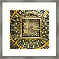 Bank Vault Door Framed Print by Adam Crowley