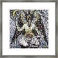 Baphomet Mosaic Framed Print