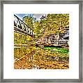Barkshed Creek Bridge Framed Print