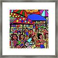 Beach Party Framed Print
