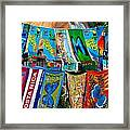 Beachtowels For Sale Framed Print