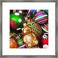 Bear Ornament Framed Print