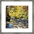 Beautiful Fall Scene Framed Print