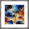 Beautiful Glass Flowers Framed Print
