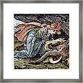 Beauty & The Beast, 1891 Framed Print