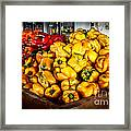 Bell Peppers Framed Print by Robert Bales