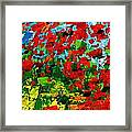 Beneath The Autumn Tree Framed Print