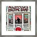 Berlin: Ragtime Band, 1911 Framed Print
