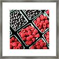 Berry Baskets Framed Print by Denise Taylor