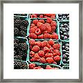Berry Baskets Framed Print