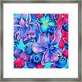 Berry Lilac Framed Print