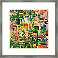Better One Be Known As An Idiot All His Days Then To Be Wicked Before Hashem A Single Moment. Framed Print