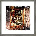 Bicycle Framed Print by Marshall Swerman