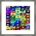 Big Box Stores Framed Print