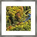 Big Carp River 3 Framed Print