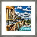 Big Sky Ski Resort Montana Framed Print