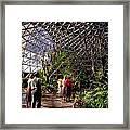 Bio Dome Framed Print
