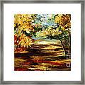 Birch Forest 4 Framed Print