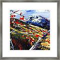 Birch Forest 5 Framed Print