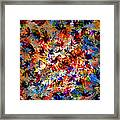 Birth Of Colors Framed Print