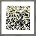 Black And White Abstract IIi Framed Print