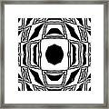 Black And White No.194. Framed Print