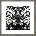 Black Mold Framed Print