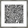 Blowing In The Breeze Framed Print