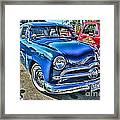 Blue Classic Hdr Framed Print