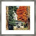 Boston Home Fall 1982 Framed Print