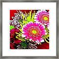 Bouquet De La  Passion Framed Print