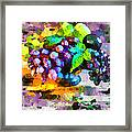 Bouquet Of Fruits Framed Print