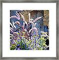 Bouquets On Display Framed Print
