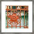 Bridge Detail Framed Print