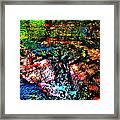 Brook Texture 133 Framed Print