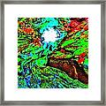 Brook Texture 145 Framed Print