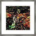 Brook Texture 162 Framed Print
