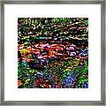 Brook Texture 34 Framed Print