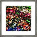 Brook Texture 54 Framed Print