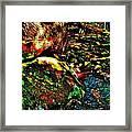 Brook Texture 58 Framed Print