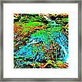 Brook Texture 85 Framed Print