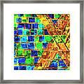Brooklyn Tile Abstract Framed Print