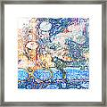 Bubbles Abstract Framed Print