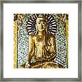 Buddha In Glass Framed Print