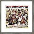 Buffalo Bill: Poster, 1899 Framed Print