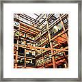 Butler Square Framed Print