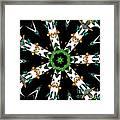 Butterflies Mania Kaleidoscope Framed Print