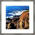 California Waterfront Framed Print